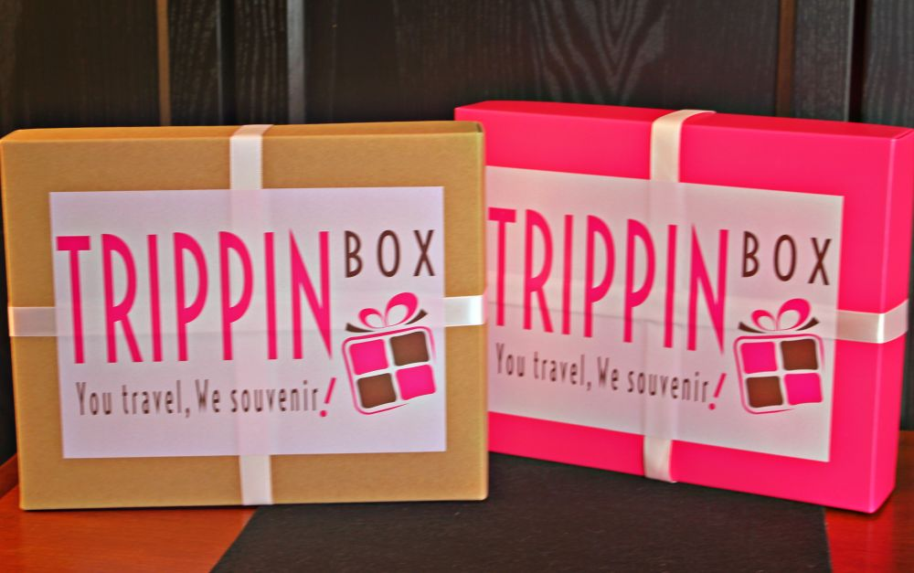 Earthy and Fuchsia boxes